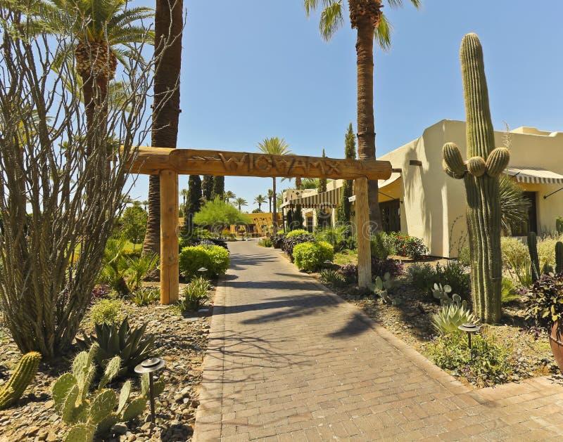 O Wigwam, parque de Litchfield, o Arizona fotos de stock royalty free