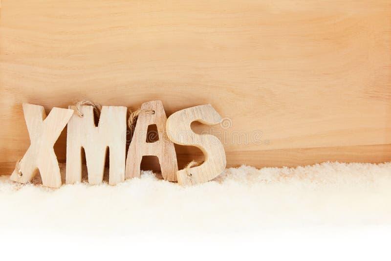 O Xmas rotula o texto para o Natal fotos de stock
