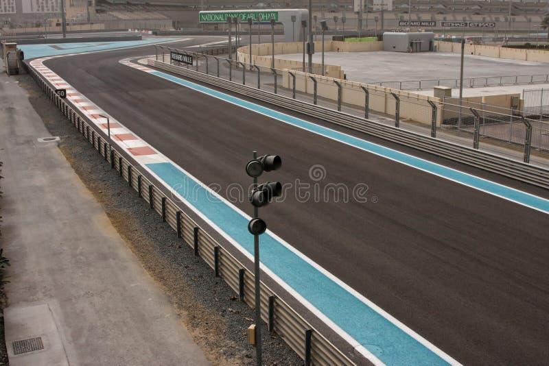 O Yas Marina Circuit fotografia de stock