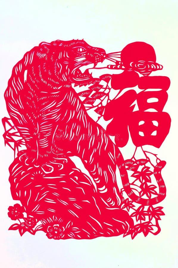 O zodíaco chinês imagem de stock