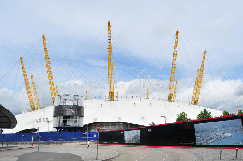 Download The O2 Arena editorial stock image. Image of entertaining - 15747959