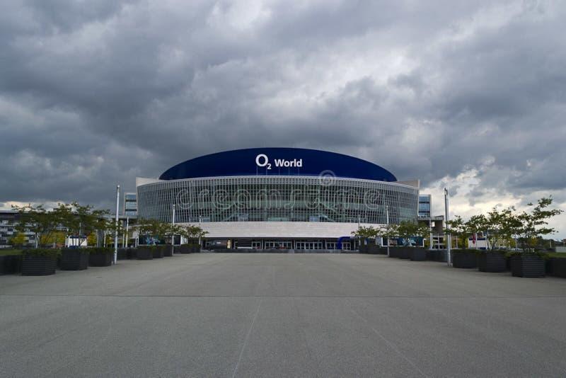 O2 World Berlin arena stock image