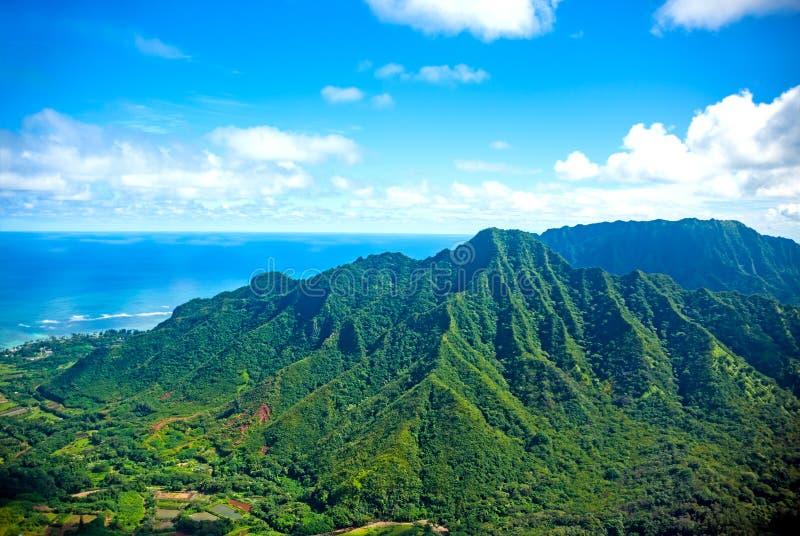 Oahu ö, hawaii arkivfoton