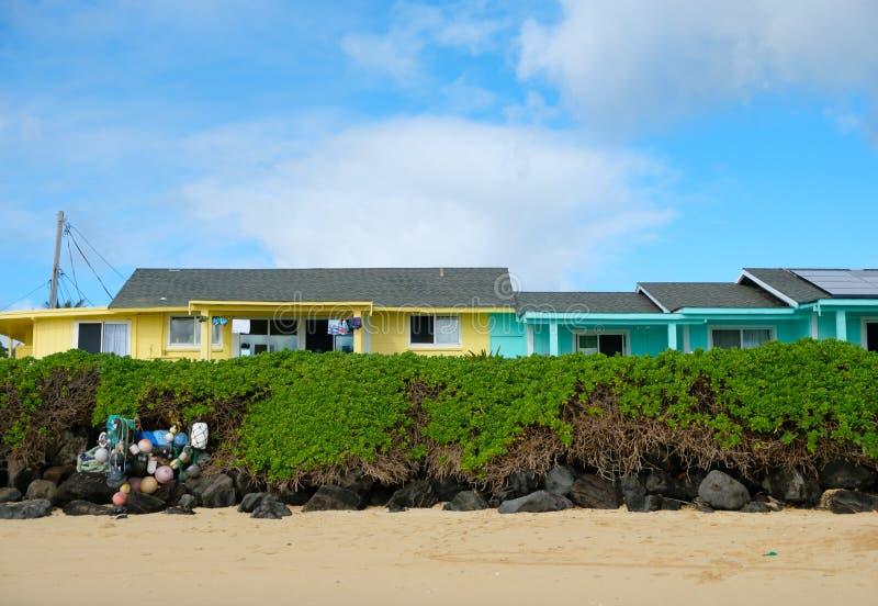 Oahu Hawaje Urlopowy Stwarza ognisko domowe obraz royalty free