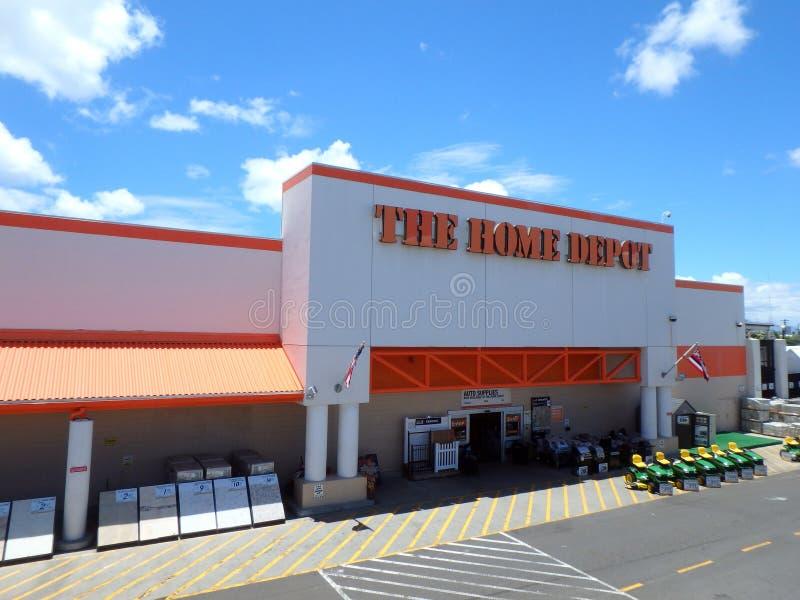 Oahu Home Depot fotografia stock