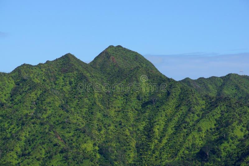 Oahu le mont Olympe images libres de droits