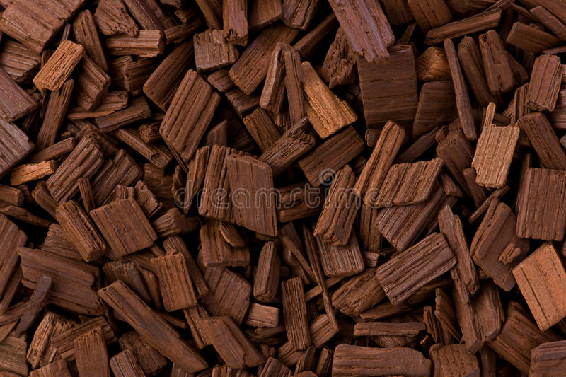 Oak Barrel Chips royalty free stock photography