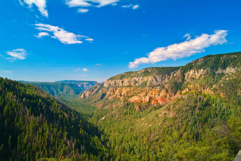 Oak Canyon, New Mexico stock photography