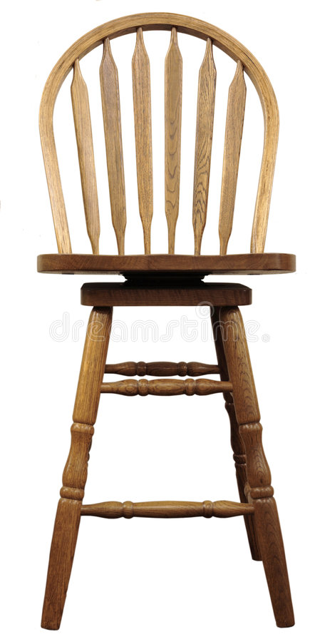 Download Oak Country Bar Stool stock photo. Image of seat, quality - 1894214