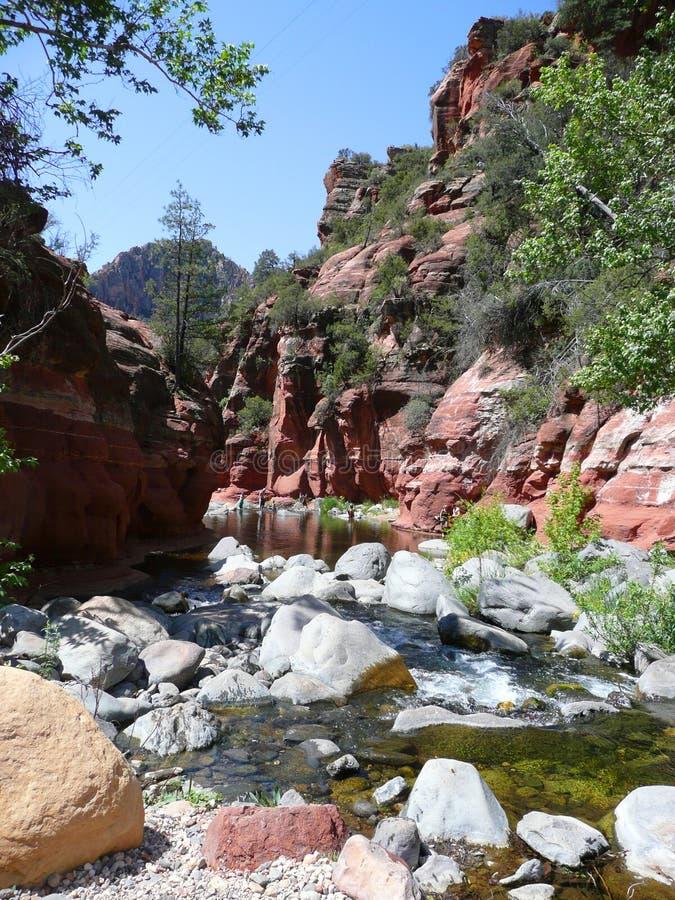 Oak Creek Canyon stock images