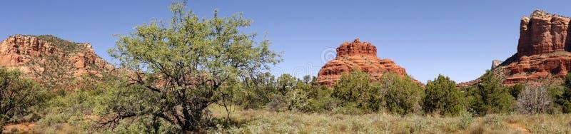 Oak Creek Canyon in Arizona. The Mountains that surround the city of Sedona Arizona royalty free stock photos