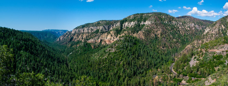 Oak Creek Canyon stock photography