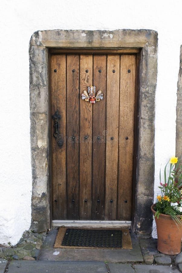 Oak door stock photos