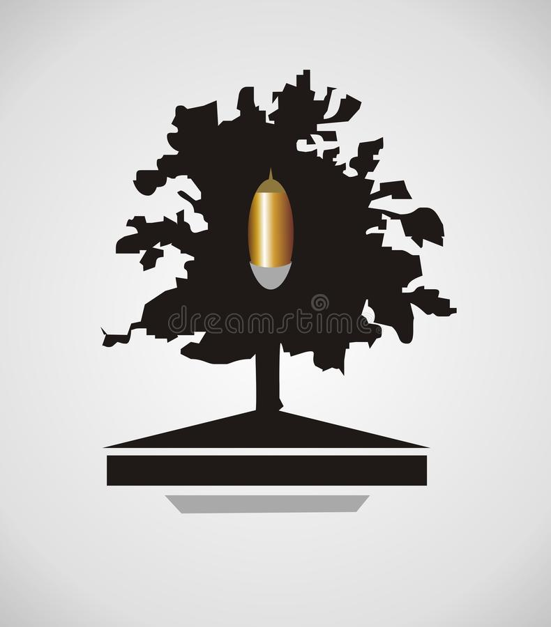Download Oak Icon Royalty Free Stock Images - Image: 27031149