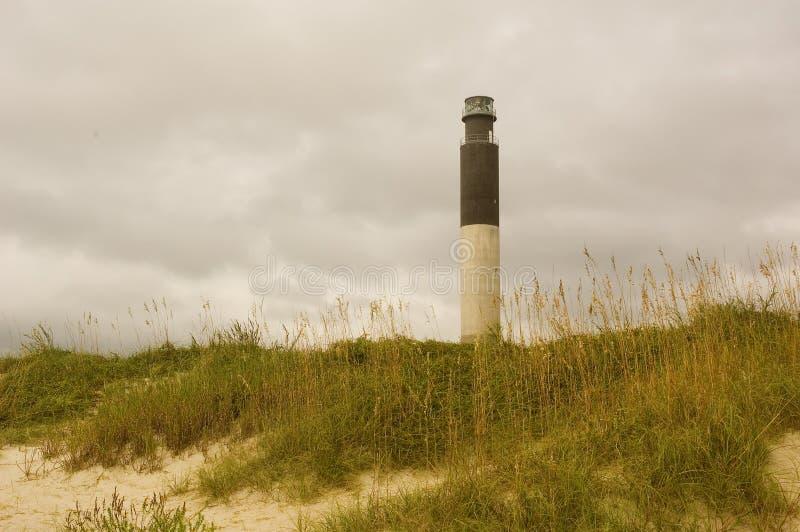 Oak Island Lighthouse. Oak Island, NC royalty free stock image