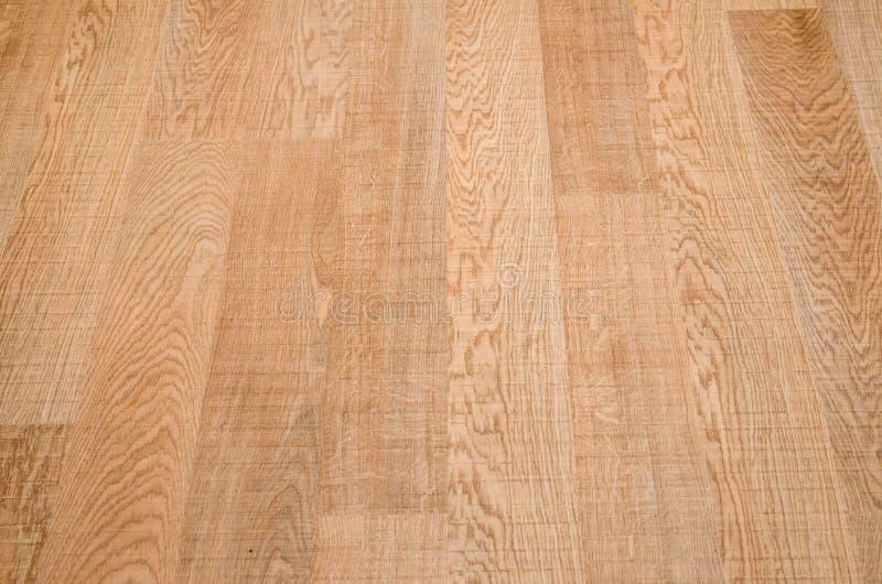 Oak laminate parquet floor texture stock photo