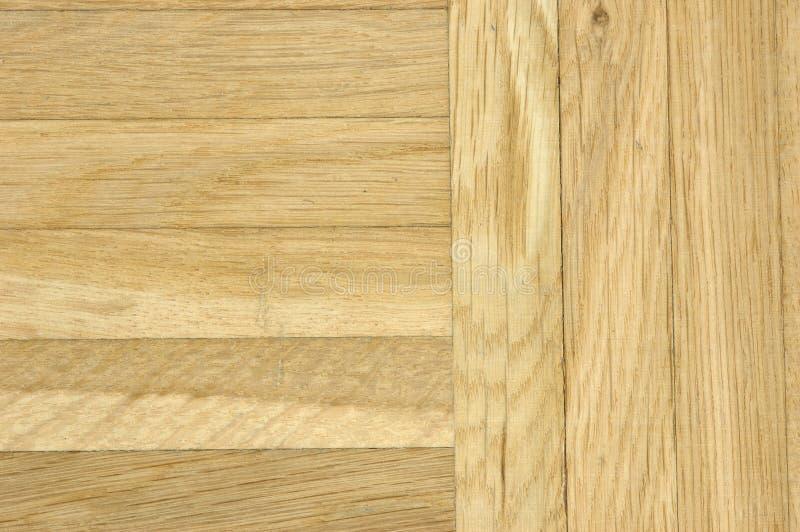 Oak parquet floor royalty free stock photo