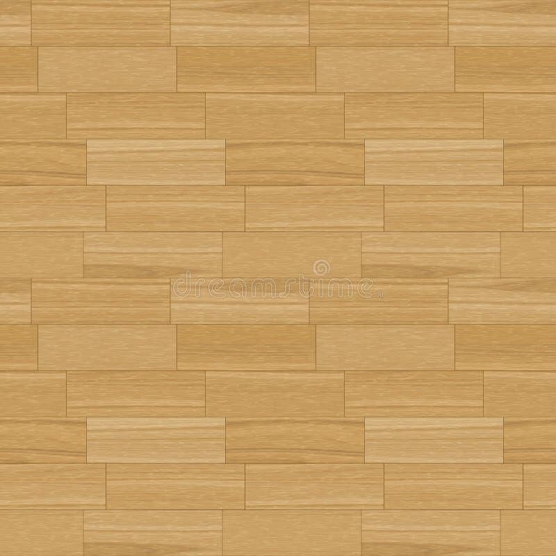 Download Oak Parquet Seamless Pattern Stock Illustration