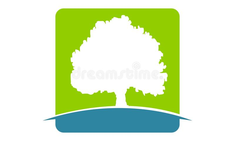 oak tree template stock vector illustration of icon 104125207 rh dreamstime com oak tree logo free