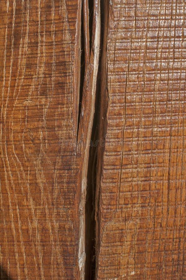 Oak wooden beam closeup royalty free stock photo