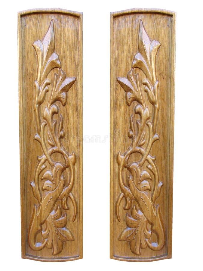 Download Oak Wooden Floral Pattern Decorative Panels Stock Photo - Image: 16715540