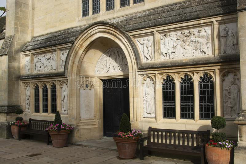 Oakham, United Kingdom. October 19, 2019 - Oakham School in the town of Oakham in Rutland. U.K, uk, england, east, education, midlands, learning, leicestshire stock images