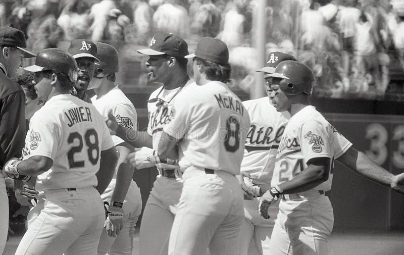 Oakland Athletics 1990 du ` s photo stock