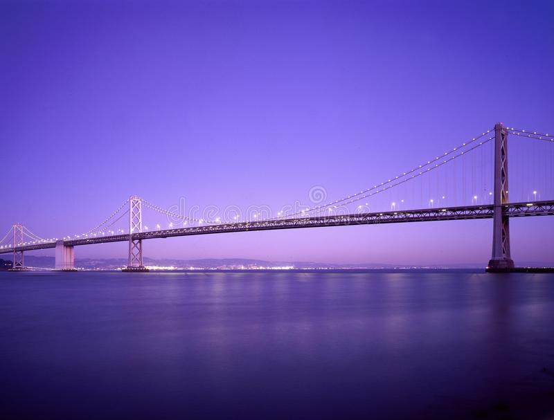Oakland Bay Bridge, San francisco royalty free stock photography