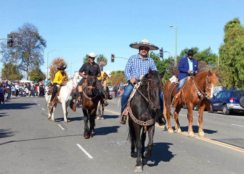 45th annual Black Cowboy Parade and Festival in Oakland, CA stock photos