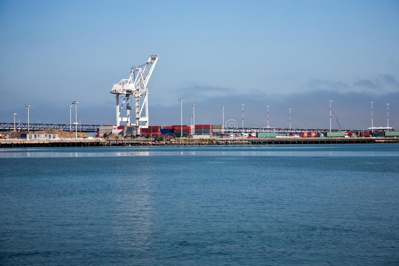 Oakland Harbor Stock Images