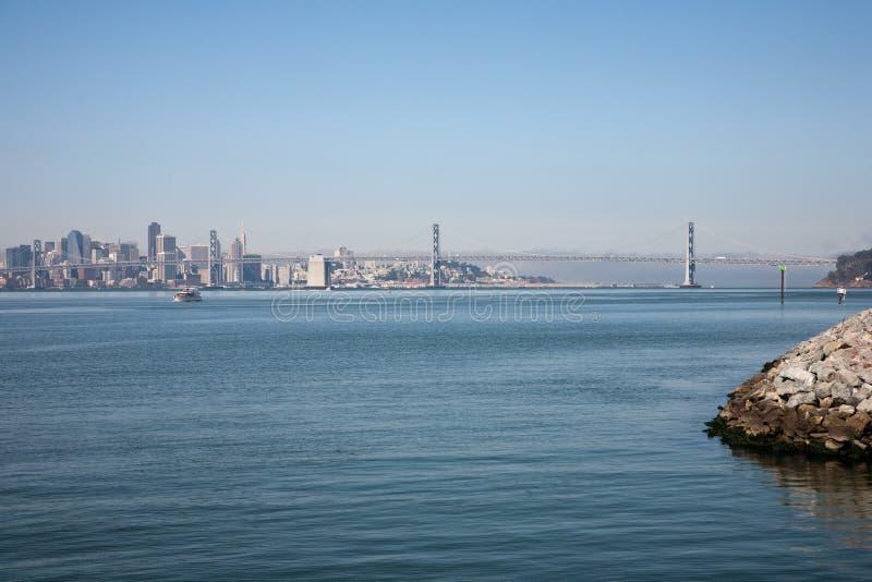 Oakland-Schacht-Brücke lizenzfreie stockfotos