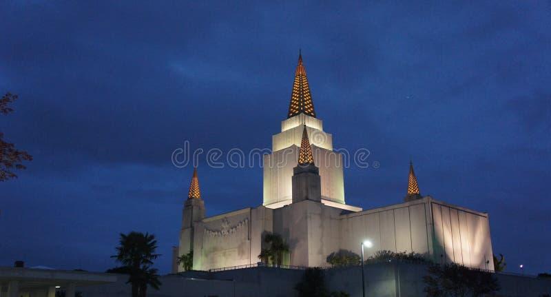 Oakland-Tempel lizenzfreie stockbilder