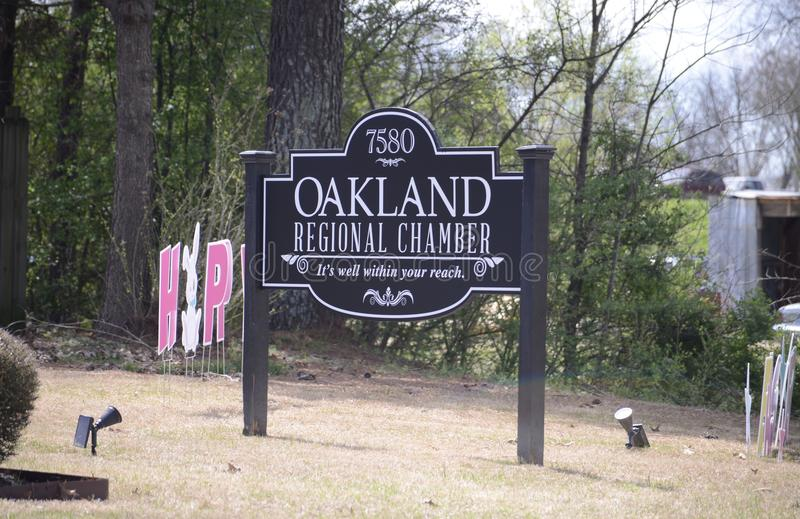 Oakland Tennessee Regional Chamber photographie stock