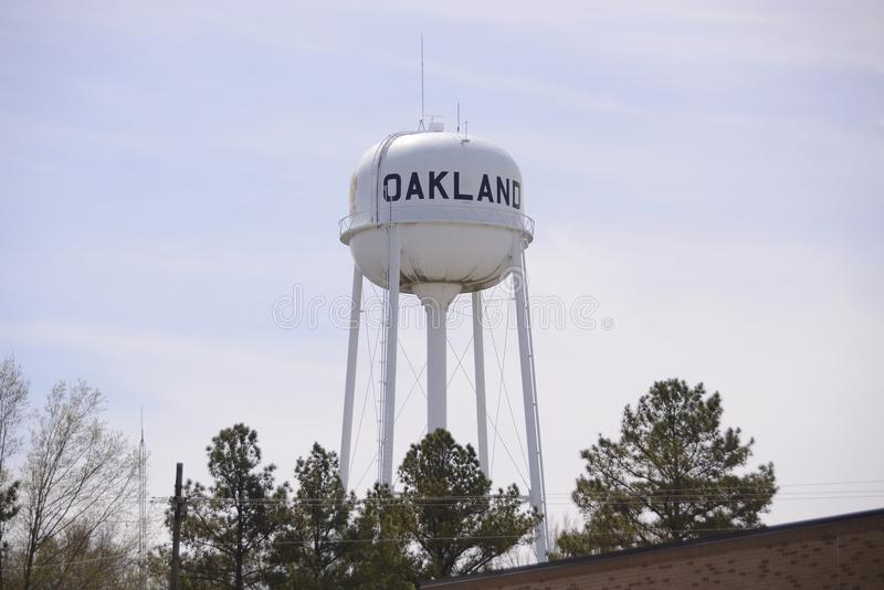 Oakland Tennessee Water Tower images libres de droits