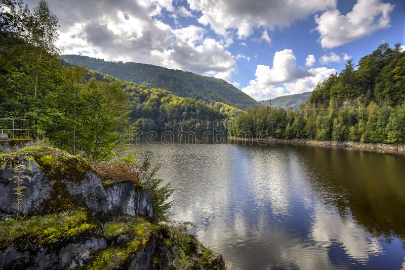 Oasa Lake, Romania royalty free stock images