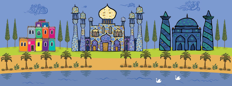 Download Oasis stock illustration. Illustration of freshness, breeze - 26501239