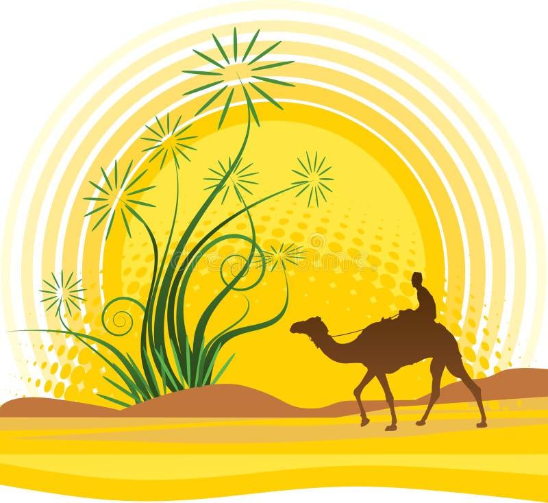 Oasis illustration de vecteur