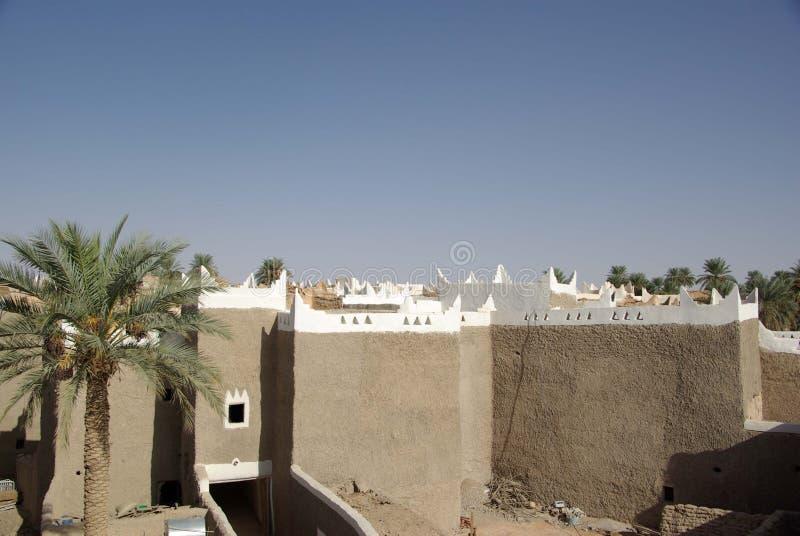Oasis de Ghadames, Libia del Berber imagenes de archivo
