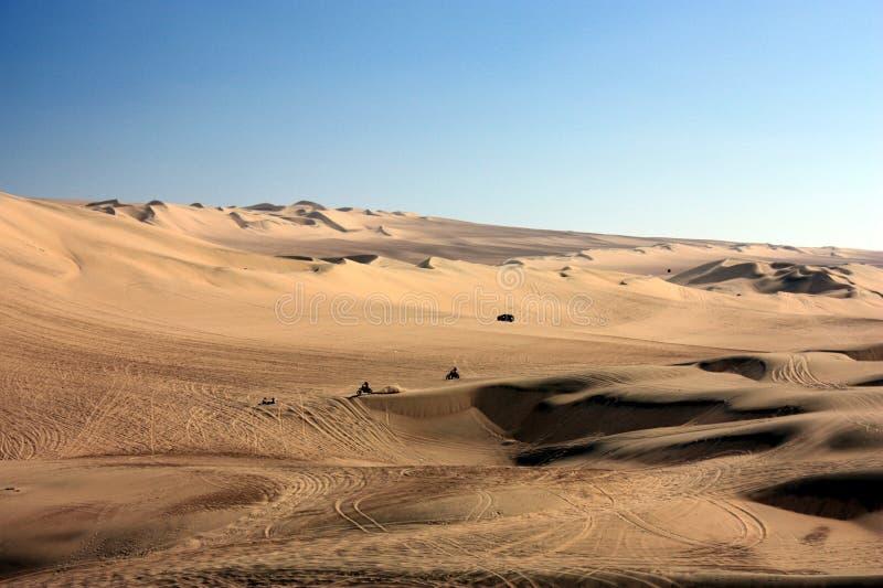 Oasis de Huacachina foto de archivo libre de regalías