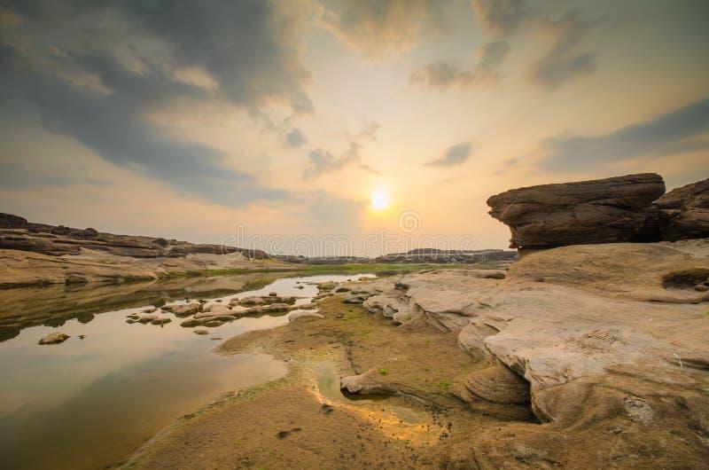 Oasis de sampanbok photo libre de droits