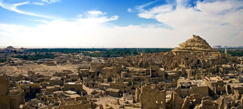 Oasis de Siwa image libre de droits
