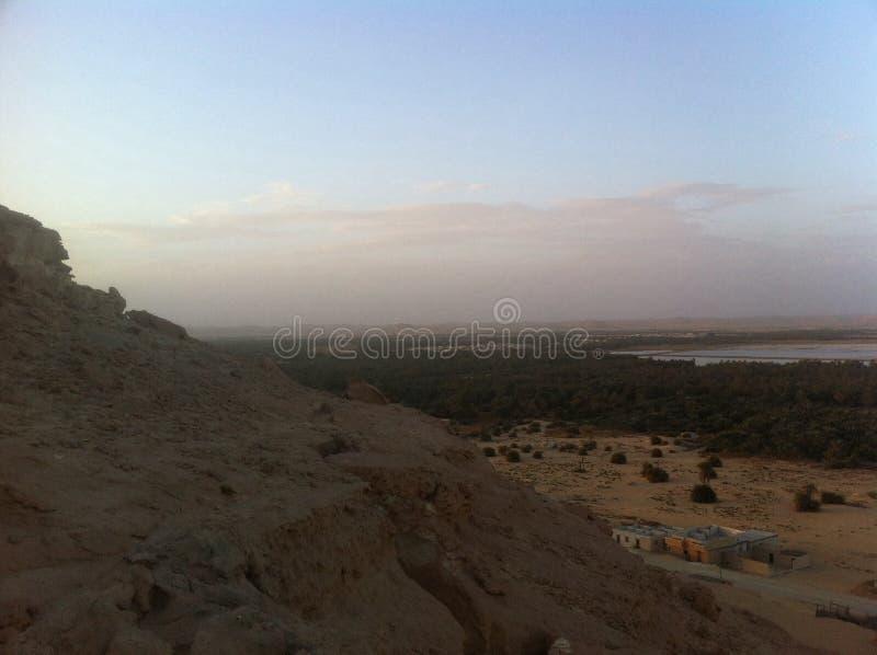 Oasis de Siwa, Egipto fotografía de archivo