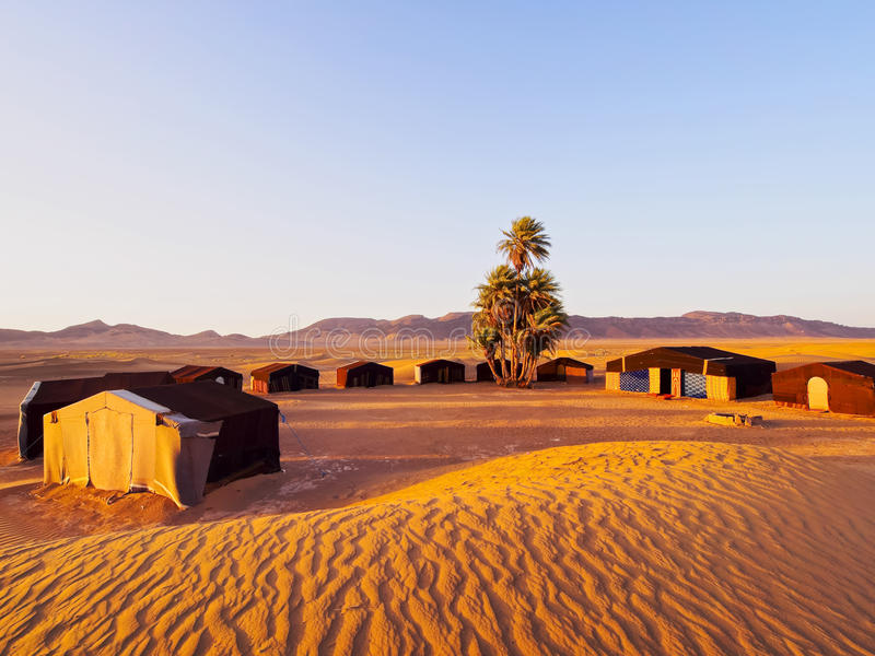 Oasis On The Desert, Morocco Royalty Free Stock Images