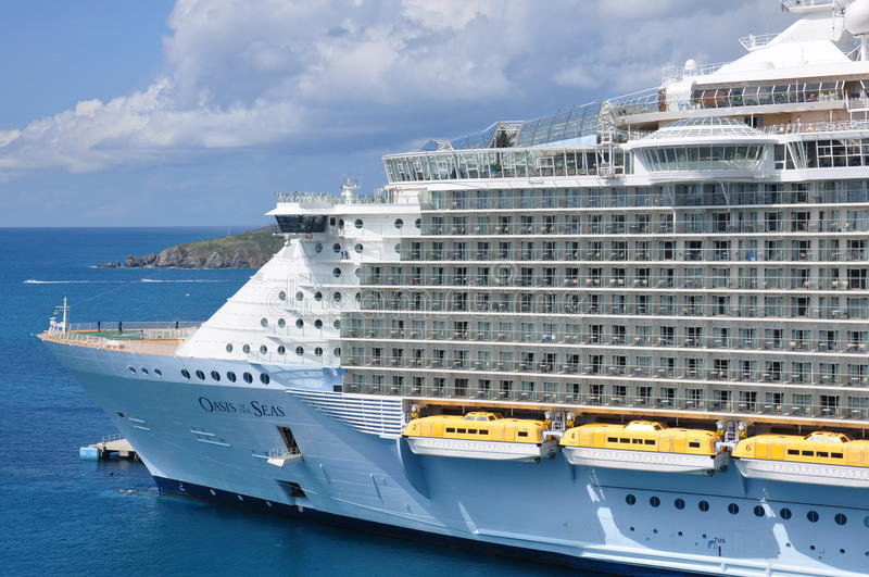 Oasis of the Seas. Royal Caribbean Cruise Lines royalty free stock image