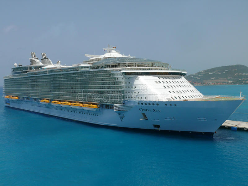 Oasis of the Seas. Royal Caribbean Cruise Lines royalty free stock photo