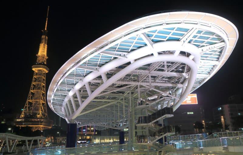 Modern architecture Nagoya Japan stock image