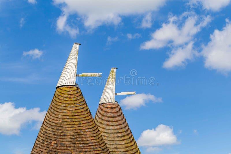 Oast σπίτι στο Σάσσεξ, UK στοκ φωτογραφίες με δικαίωμα ελεύθερης χρήσης
