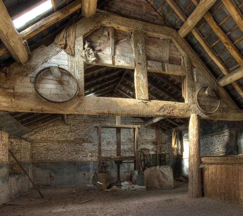 Oast dom, Herefordshire fotografia stock