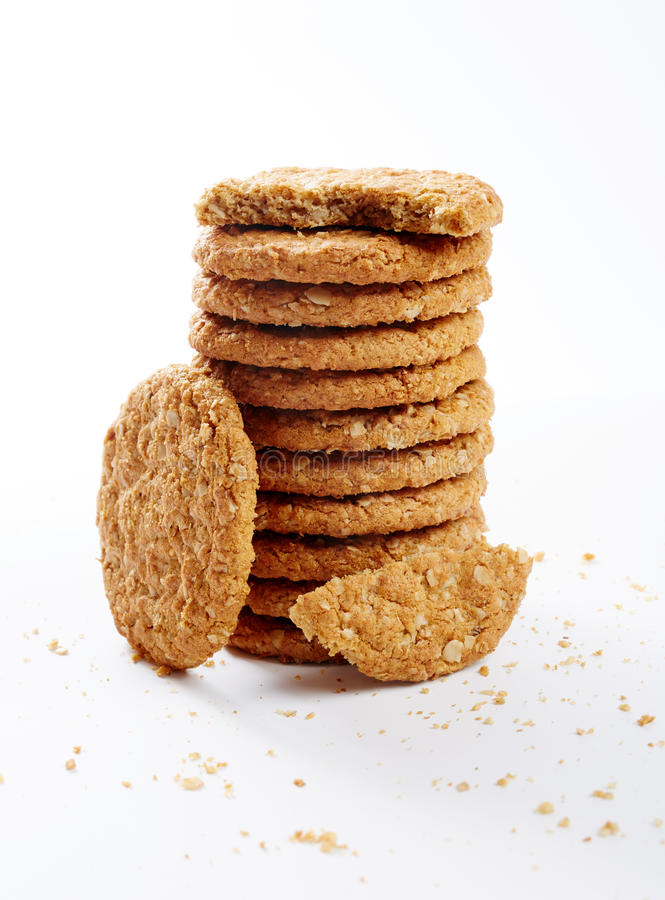 Free Oat Biscuits Stock Photography - 55544142