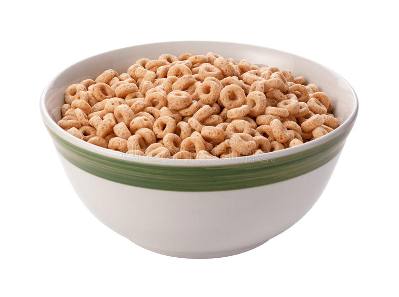 Download Oat Cereal Isolated With Clipping Path Stock Photo - Image: 28047578
